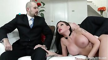 Bratty Wife Shared with Her Husband