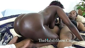 Ample breasted nympho rides her lovers giant pecker on the bed