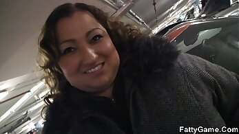BBW seductress with big ass finds herself in a super hot and hot fuck