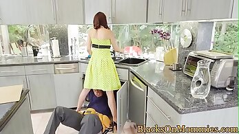 BBC Housewife in a Threesome