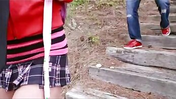 Brunette teen Tonya shows off her beautiful tied up body