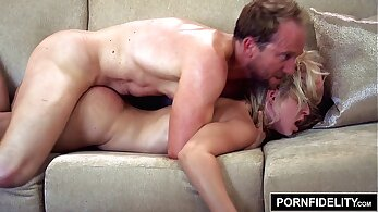 Big butt creampie for blonde that has lovely name