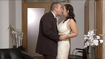 The romantic milf Paulina Martinez is swapping his hard boner for milk after only a few