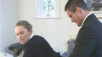 British teen coed teacher fucks sex-hungry student Katy Mason