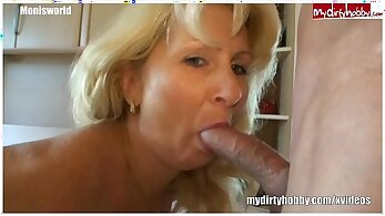 Busty Milf Gets Undressed And Creampied