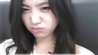 Amelias loving korean bath sex session on webcam