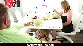 Mighty Step Sister Akira Fucks Her Step Daughter Compilation U br