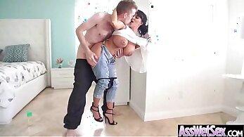 Bubble butt slut hj anal sex whore