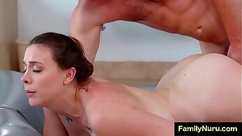 Stepmom Dolly Leigh Fucking Her Sons Friend In The Shower
