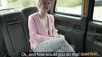 Beautiful blonde rough and cute masturbation Fed up with waiting for a taxi