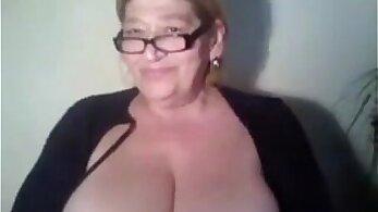 Busty Grandma Kayden, Free 18