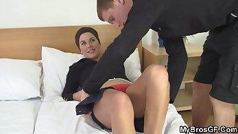 Anal Leggings Before Work Local Girlfriend