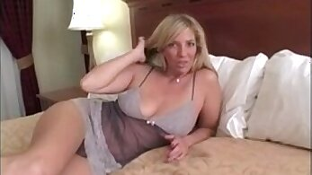 POV titfucked by step mom Lake Evans in doggystyled position