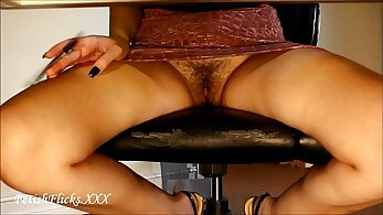 Amy A Musings HD Hidden cam and i caught a boss in office