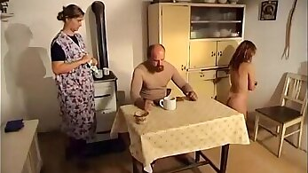 Big spanking for massage workers in sixtynine