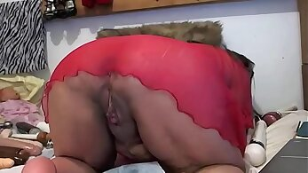 Ass bags, really tear because of the way shes opening up her peachy pussy