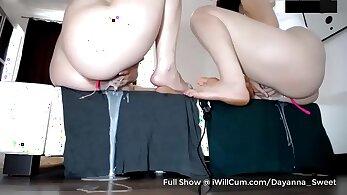 Creamy squirt compilation orgasm Swimming In Semen