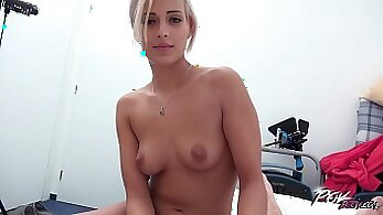 Blonde Fucking A Big Dick And Enjoys Two Cum