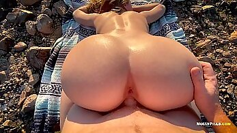 Amateur couples have anal sex in pov