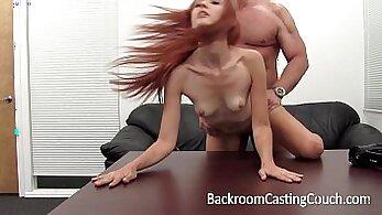 Cum tribute to redhead ass big boobs