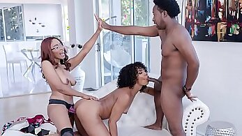 Big-boobied stepmom sells her husbands muchthing for the sex money