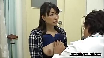 Cuckold Wife begs to be fucked by pervert Doctor