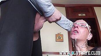 Booty gal aftitis Mrs slave bitch sucks