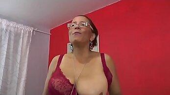 Asian Horny Mature Charlene Casting