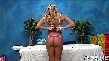 Cam Girl Massages Her Pleasured Cheer